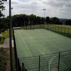 Netball Court Specialists in Heol Senni 7