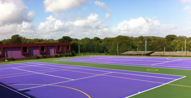 Netball Court Dimensions in Down