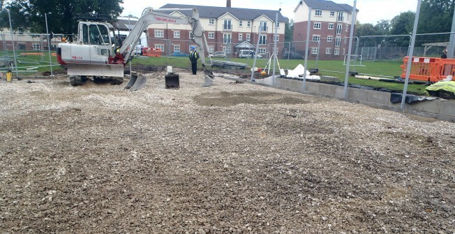 Netball Court Construction