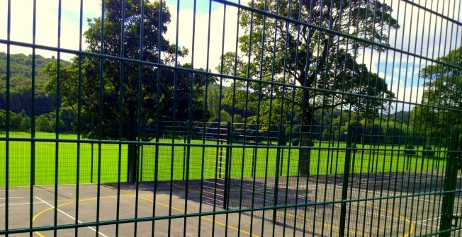 Netball Facility Fencing in Annacloy