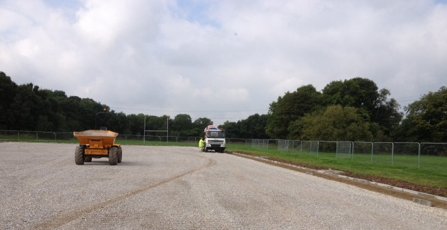 Netball Court Resurfacing in Aldington
