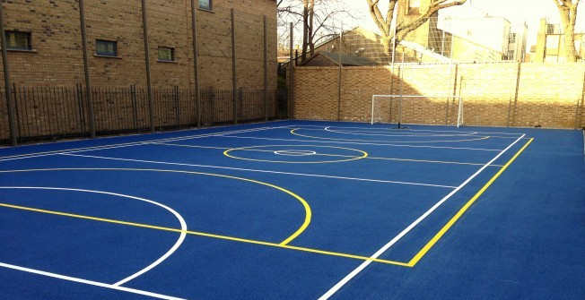 Netball Surfacing Specifications in Ash