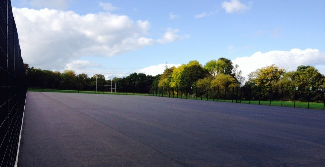 Netball Facility Resurface in Ashton