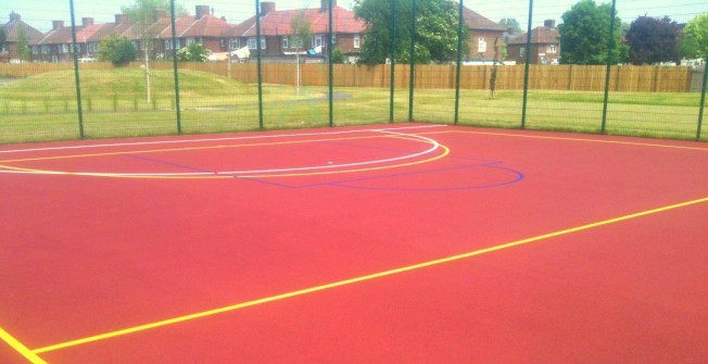 Outdoor Netball Facilities in Andersfield