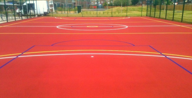 Netball court dimensions in worcestershire sports court for Sport court size