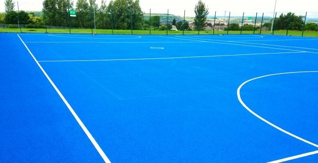 Netball Court Specialists in Alkmonton