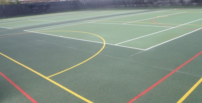 MUGA Facility Cleaning in Swansea